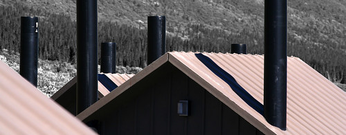 park roof chimney metal manipulated river vent toilet roofs national area rest denali toilets chimneys vents toklat