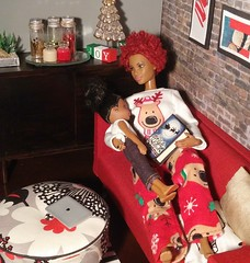 Riley Wants Me To Read Her A Christmas Story, But She Can Barely Keep Her Eyes Open. #Sleepyhead #Happyholidays (gfury5) Tags: happyholidays sleepyhead