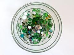 I have lost my heart (Micheo) Tags: redondo round o bolas canicas cristal glass heart corazon found perdido blanco white whitebackground bowl cuenco crystal coleccion collect