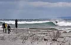 Surfs Up........ (smiles7) Tags: charlevoixmichigan lakemichigan surfers 3662016