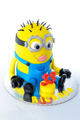 Birthday cake Minion (scottx) Tags: aniversario cake design bolo anos aniversário minion