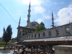 Blue Mosque (back) (Hisham Ben) Tags: mostlysunny