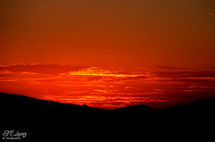 El primer atardecer del otoo... (E.M.Lpez) Tags: sunset sky sun color sol clouds contraluz atardecer andaluca rojo septiembre cielo nubes otoo puestadesol anochecer jan 2015 alcallareal sierrasurdejan