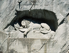 The Lion Monument (martindesu) Tags: switzerland europe luzern rx1