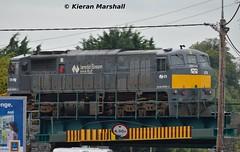 078, Mountrath Road Bridge, 7/9/15 (hurricanemk1c) Tags: irish train gm rail railway trains railways irishrail generalmotors portlaoise 2015 emd 071 078 iarnród éireann iarnródéireann mountrathroadbridge