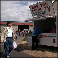 Oregon State Fair 2015 (abking09) Tags: street man color oregon heaven state candid fair salem quiz 2015 areyougoingtoheaven allanking