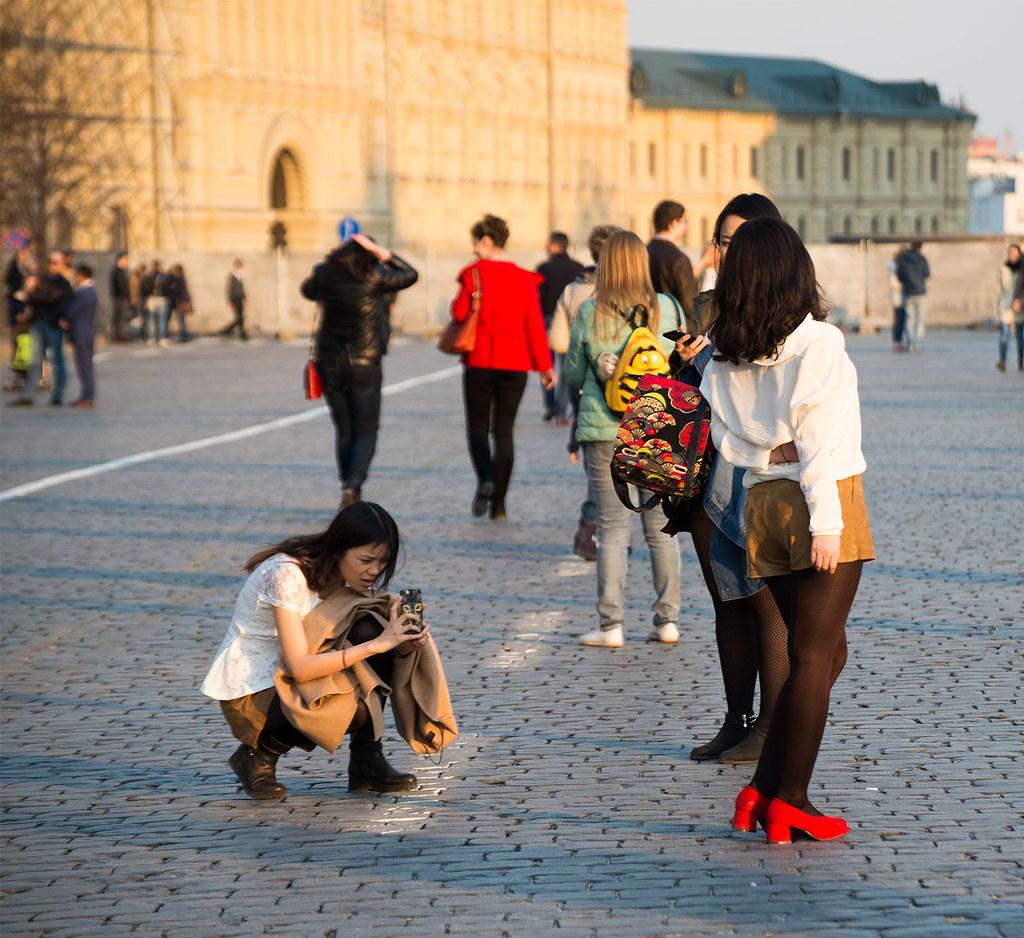 фото: Гостьи столицы