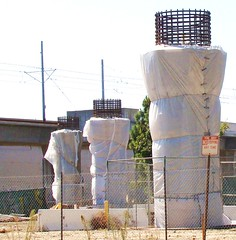 LA in Transit / Crenshaw Corridor - Dressed for a Supporting Role (ramalama_22) Tags: urban green concrete la los airport highway ramp metro angeles transport corridor wrapped structure line trench international transit shuttle stump imperial column elevated transfer rapid undefined rebar inconvenient crenshaw unfunded