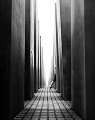 (Svein Skjåk Nordrum) Tags: bw berlin lines concrete movement construction memorial noir path holocaustmemorial nero slabs petereisenman holocaustmahnmal stelae