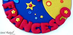 Journey to the moon (Colori Preziosi) Tags: baby moon stars felt luna fabric lua spaceship feltro astronauta stelle bambino stoffa coccinella bottoni botes quadretto bastidor naveespacial coccarda coccardanascita quadrinhobastidor quadrettoaltelaio stoffafabric