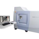 島津マイクロフォーカスX線CTシステムの写真