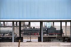 2015/4/5 SY1321 Yaojie (Pocahontas®) Tags: railroad canon kodak engine rail railway loco steam locomotive gansu eos1v ektar100 sy1321