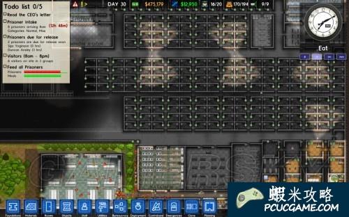 監獄建築師 當前bug與遊戲心得