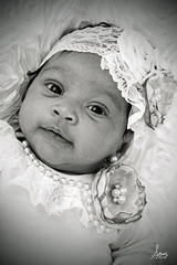 gleimeriz2 (Savy Photography) Tags: blackandwhite baby photographer babygirl 2months savy pinktutu savysphotography