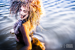 Monique Rosteing-5 (L-Imaging) Tags: lake chicago art water beauty lady hair model nikon faces crown darkwater laimis limaging