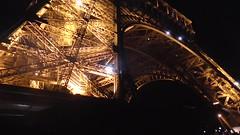 Light Show at the Eiffel Tower (EmperorNorton47) Tags: autumn paris france fall night digital lights video eiffeltower landmarks lightshow iledefrance champsdemars