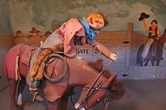 Buckaroo (skipmoore) Tags: sanfrancisco vintage cowboy animated rider bronc buckaroo musemcanique