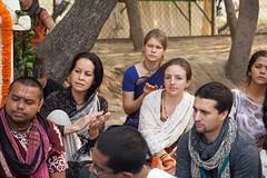 IMG_5408 (iskconmonk) Tags: festival prabhupada swami kartik prabhu brahmananda vrindavan iskcon swamiji sanyasi goshala iskconvrindavan
