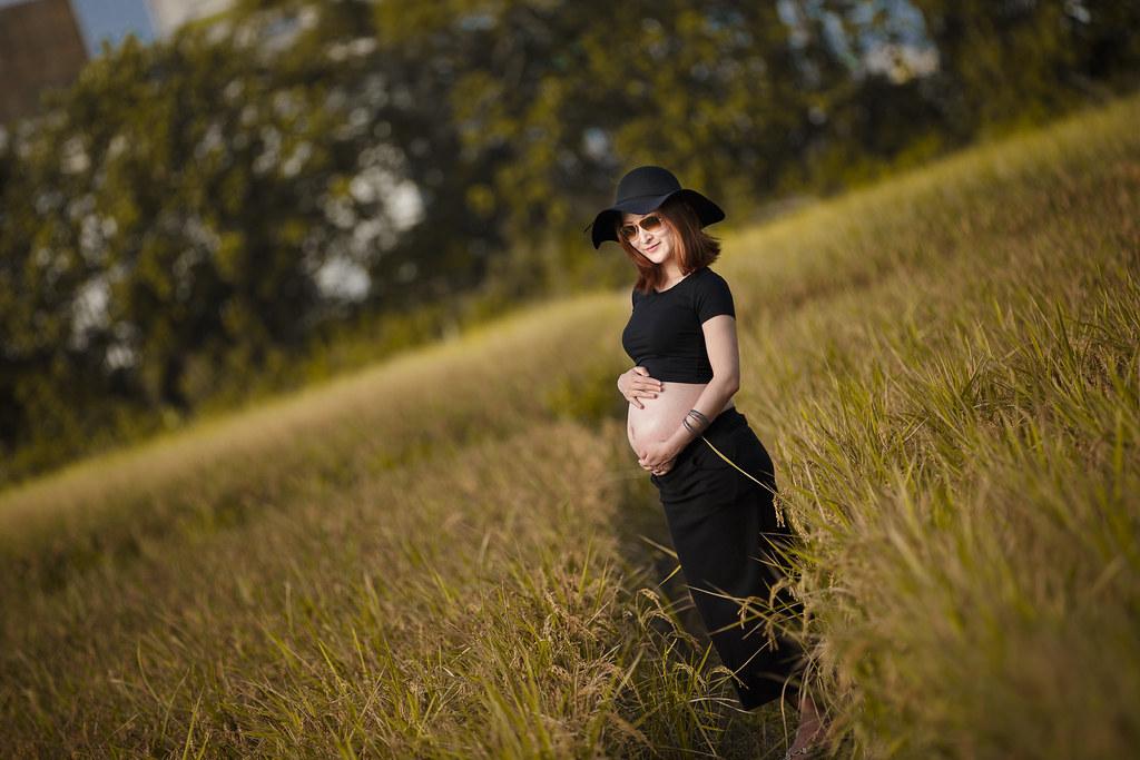 孕婦寫真,孕婦攝影,公園孕婦,稻田孕婦,海邊孕婦,時尚孕婦,Lion&Lys29