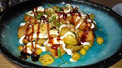 aloo chaat (n.a.) Tags: chaiki crossrail indian toddy shop restaurant aloo chaat potato salad aloochaat chai ki toddyshop indianrestaurant london e14