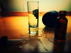 """Dont Cry Over Spilled Milk"" (elijah_wright229) Tags: canon alcohol aviary dslr filters shotglass lightroom upandcomingartist"