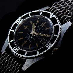vintage diver patina (paflechien33) Tags: vintage nikon g watch f28 vr afs patina 105mm sb800 micronikkor ifed d7100 sb900 sb700