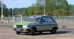 Peugeot 104 Coup 1977 (XBXG) Tags: auto old france holland classic netherlands car mobile vintage french automobile utrecht nederland voiture frankrijk 1977 paysbas coupe peugeot coup 104 2007 ancienne veemarkt franaise citromobile citro peugeot104 66rm62