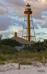 Season's Greetings from Sanibel (davidharris518) Tags: sunset lighthouses florida beaches sanibel coasts