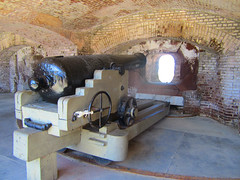 casemate - Fort Sumter (bronxbob) Tags: southcarolina charleston cannon fortifications forts fortsumter americancivilwar