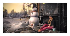 We agreed to come back and watched snow together this year. (Kidman Latte (Kimmy Latte)) Tags: logo belleza floorplan whatnext ninety monso teefy thesecretstore 7style kidmanlatte chicchica thechapterfour
