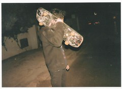 late night (Anwaross) Tags: street winter black art film beautiful night 35mm fun photography rebel tunisia outdoor grunge flash hipster skate dynax expired sousse perfection aesthetic