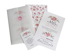 Invitacin 15 aos modelo Bouquet (Tarjetas Encantos) Tags: flores 15 hermosa vegetal romantica invitacion tarjeta clasica raso texturado telado
