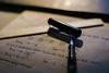 break. (maxgrosser) Tags: sony a6000 minolta af 50mm festbrennweite text pencil minimal schatten office