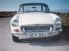 1962 MGB (occama) Tags: scy33j mgb 1962 old car isles scilly reg plate british sports white