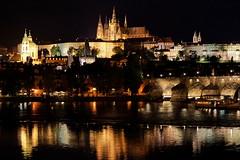 Prague Castle (Yuri Rapoport) Tags: hradčany stvituscathedral church prague czechrepublic thevltavariver charlesbridge bridge 2012