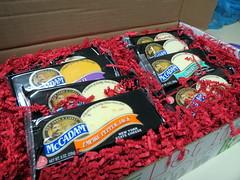Box Of Cheese. (dccradio) Tags: lumberton nc northcarolina robesoncounty cheese mccadam adirondack sharp horseradish empirepepperjack pepperjack mild cheddar nycheese nystatecheese red paper packaging cheesebox box shippingbox