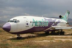 CP-2515 | Boeing 727-222/Adv | AeroSur (cv880m) Tags: cochabamba jorgewilstermann cbb bolivia southamerica latinamerica boneyard cp2515 boeing 727 722 727200 727222 aerosur trijet