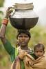 Baiga woman with child (wietsej) Tags: baiga woman with child bhoramdeosonydslra100 sonysal135f18 a100 zeiss 135 18 sal135f18z portrait tribal rural village