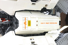 The name is not a joke. (Blake Foster) Tags: lego space spaceship microscale ugly duckling moc afol