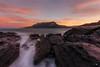 Anochece en Sonabia (Caramad) Tags: agua longexposure mar landscape sunset acantilado cantabria marcantábrico rocas sonabia seascape olas rocks puestadesol sea