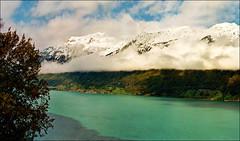 Morning after the storm - Lake Giessbach (Katarina 2353) Tags: landscape lake switzerland panorama katarinastefanovic