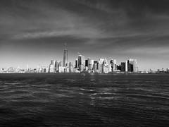 Manhattan skyline (ALEDWARD) Tags: newyork oneworldobservatory freedomtower skyline manhattan manhattanskyline