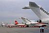 Aviation History on Display (craigsanders429) Tags: 727 boeing727 aircraft airports airlines airliners airplanes jets jetliners twa transworldairlines twa707 boeing707 westernairlines