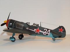 La-7 (5) (mcjaffa) Tags: lavochkin la7 scalemodel eduard 172 7063 profipack ametkhansultan