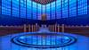 Belief in a modern world (Karsten Gieselmann) Tags: 714mmf28 architektur bayern blau braun deutschland em5markii farbe hdr mzuiko microfourthirds olympus private snshdr sakralbauten stpeter wenzenbach architecture blue brown color kgiesel m43 mft