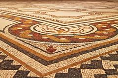 Mosaic (dayman1776) Tags: mosaic madrid europe ancient wallpaper tiles greek floor museum espana