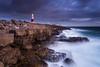 Moody Bill (Jake Pike) Tags: portland bill dusk moody dorset coast cloud colour canon stormy landscape photography jake pike lee filters long exposure
