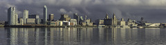 """Panoramic Waterfront Liverpool"" (Ray Mcbride Photography) Tags: liverpoolwaterfront panoramic rivermersey liverbuildings albertdock 3graces museum"