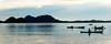 Pescadores en las Togian (Sacule) Tags: indonesia sea mar bomba togean island silhouette silueta fisherman mountain panoramic panorama wide sulawesi paradise southeastasia canon powershot sx200is
