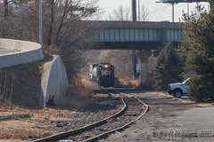 """Action on the """"Old Line"""" (Darryl Rule's Photography) Tags: 2017 aestaley amtrak cpdq csao conrail dairyqueen delawareriver delmoorave diesel diesels dogpark emd gp382 january local morrisville ns norfolksouthern ols operationlifesaver pa pennsylvania pennsylvaniaave pennsylvaniarailroad railroad railroads sharedassets staley staleylocal streetrunning sun tollbrothers train trains winter ypmor1"""